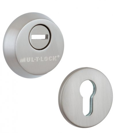 Броненакладки MUL-T-LOCK SL3 DIN ROUND BRUSHED_NICKEL