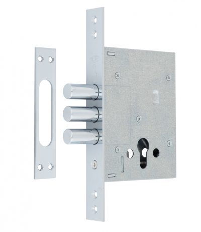 Замок врезной MUL-T-LOCK 1-WAY DIN 353P NC UNIV BS60мм SP